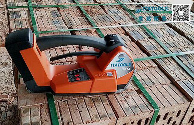 ITA24打包机在湖南怀化多孔砖厂的应用