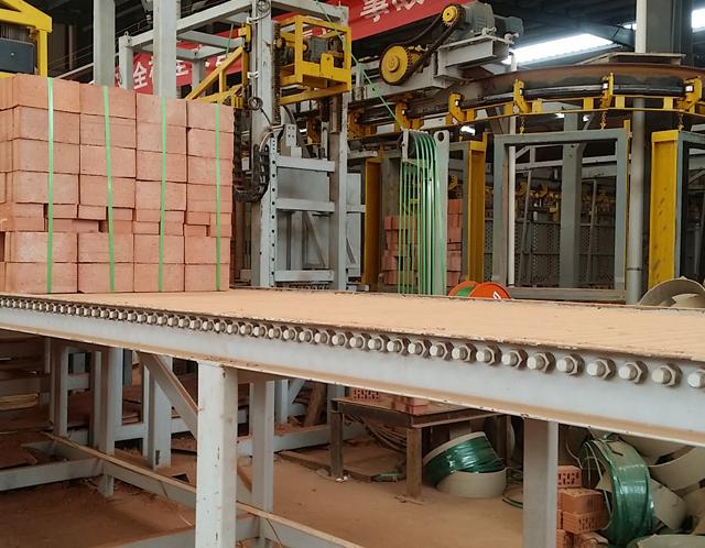 砖块全自动打包机 红砖标砖全自动打包设备