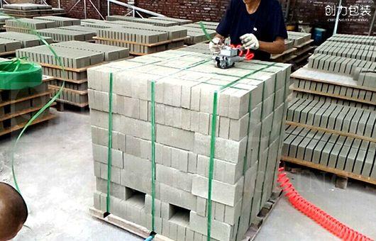 砖厂实现无托盘打包,新趋势