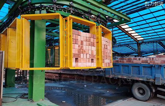 砖厂全自动打包是否可以实现自动码垛?
